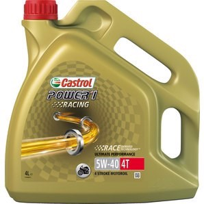 CASTROL POWER 1 RACING 4T 5W-40 - 4 Liter