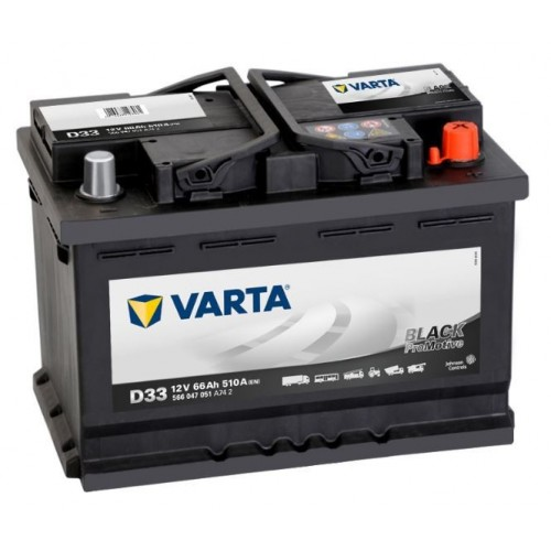 12 Volt Varta Promotive Black