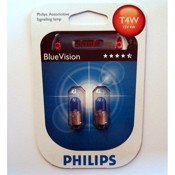 Philips Blue Vision T4W 12V 4W