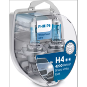 Philips WhiteVision Ultra H4 12V 60/55W