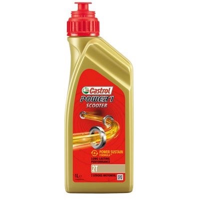 Castrol Power 1 Scooter 2T - 1 Liter